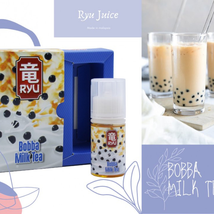 Ryu Juice - Boba Milk Tea