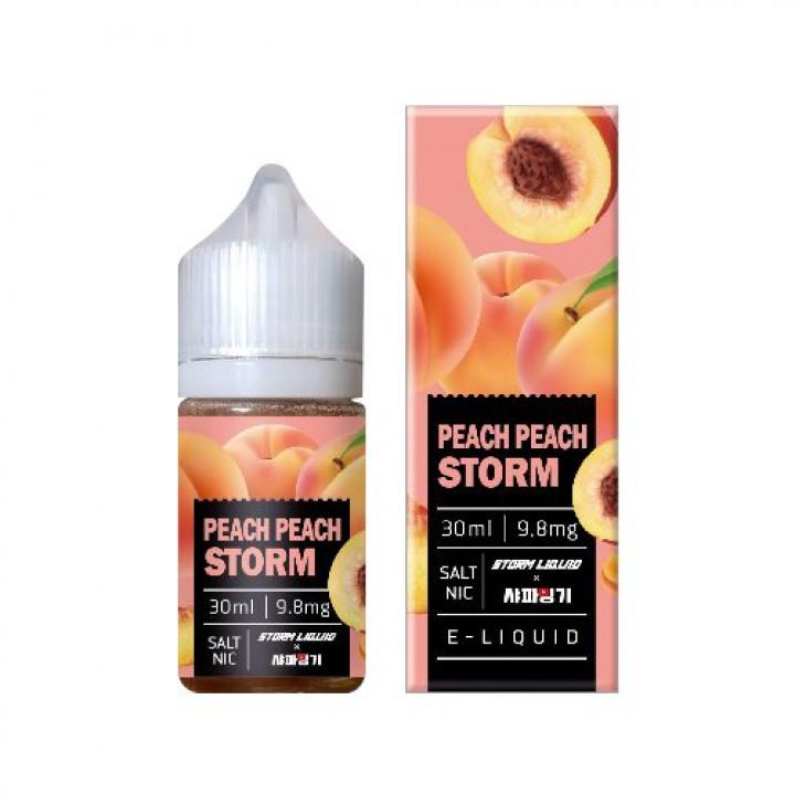 Peach Peach Storm