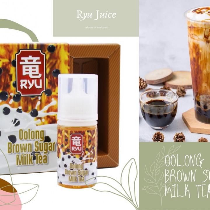 Ryu Juice - Oolong Brown Sugar Milk Tea