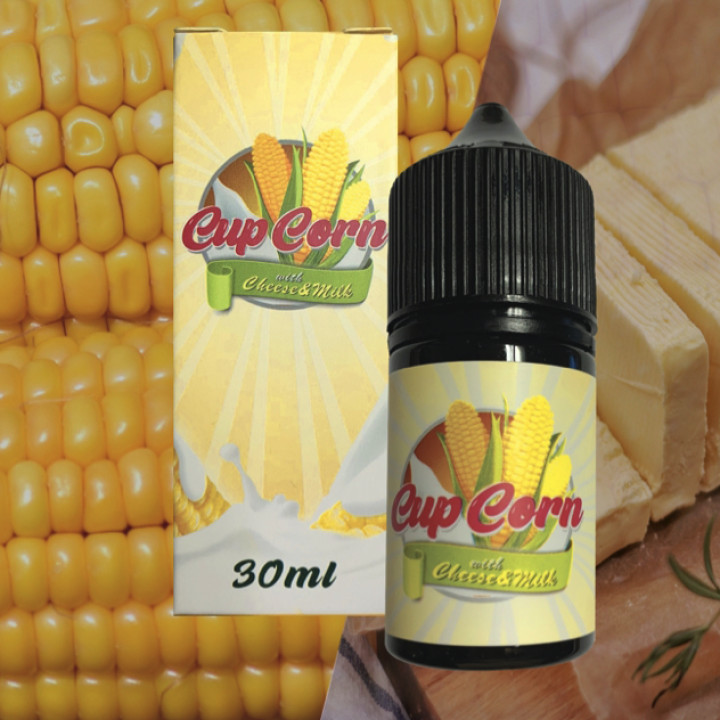Cup Corn With Cheese & Milk