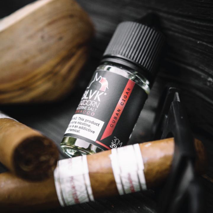 Tobacco Cuban Cigar Salt